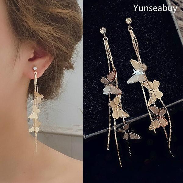 butterfly, Dangle Earring, Jewelry, Gifts