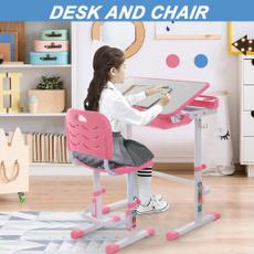 writingdesk, pink, studytable, Blues
