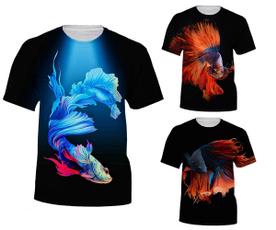 cute, Fashion, 3dshirt, fish