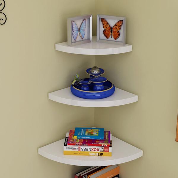 Kitchen Storage & Organization, 3cornerwallshelf, displayshelf, racksholder