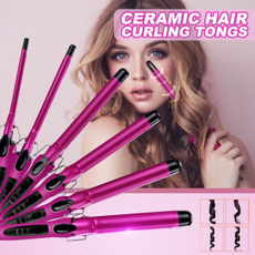 Hair Curlers, Curling Tongs, led, Electric