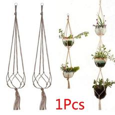 Rope, Plants, macrame, Garden