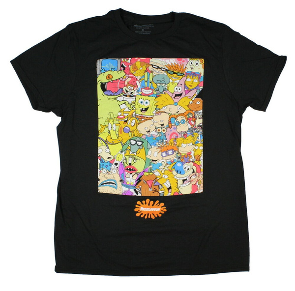 nickelodeon, Large, T Shirts, Groups