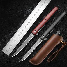 stilettoknife, Wood, pocketknife, Outdoor