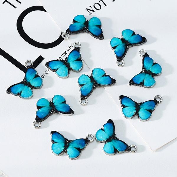 butterfly, cute, Jewelry, enamel