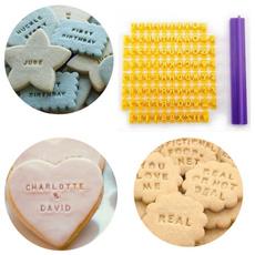 Baking, Stamps, alphabet, Tool