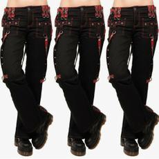 cargo, Goth, trousers, Waist