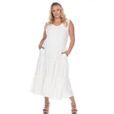 Plus Size, Necks, Dress, dressesskirt