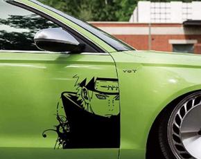 Car Sticker, Door, Waterproof, carbodydecal