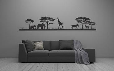Car Sticker, Decor, art, safari