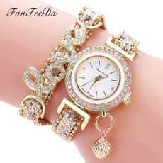 quartz, Love, Jewelry, leather strap