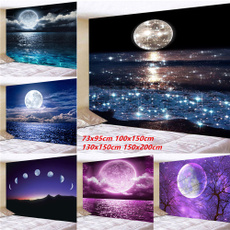 Wall Art, seamoon, Moon, curtainsforlivingroom