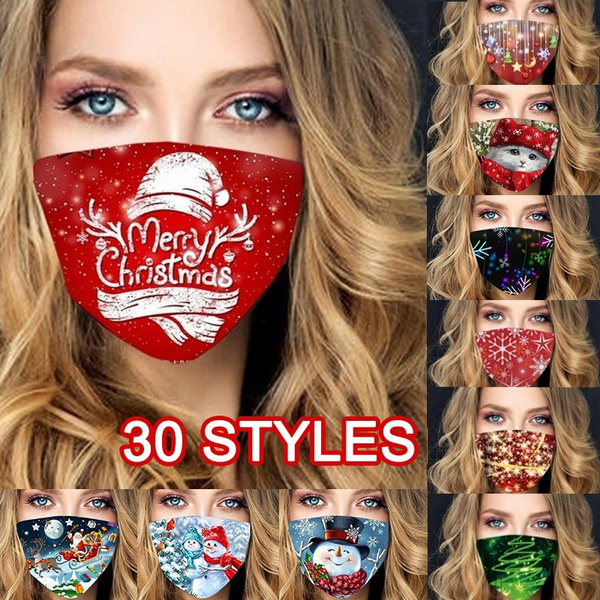 cute, Outdoor, dustmask, Christmas