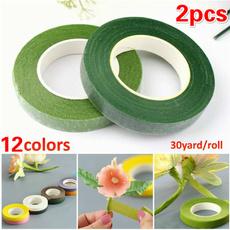 Flowers, greentape, floweraccessorie, selfadhesive