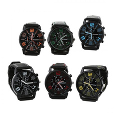 Steel, Stainless, jewelry watch, Silicone