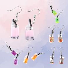 cute, Dangle Earring, Jewelry, Cup