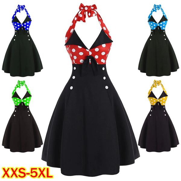 sleeveless, Plus Size, halter dress, Halter