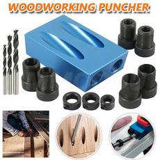 woodworkingholepuncher, handhelddoweljig, doweljig, Tool