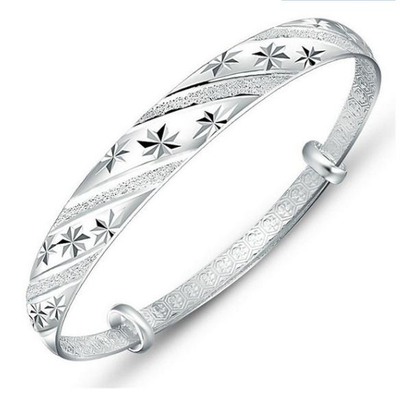 Sterling, Crystal Bracelet, Star, Jewelry