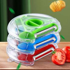Multifunctional, vegetablefruitpeeler, shreddingmachine, rotary