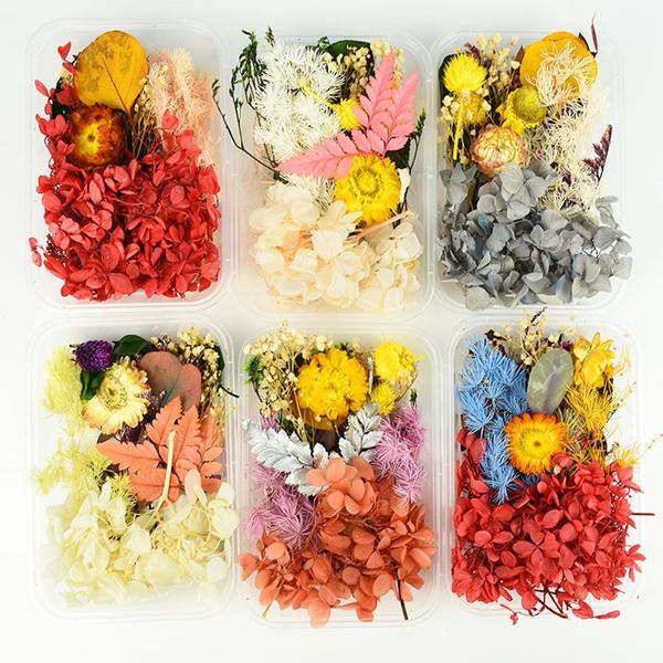 Box, Baking, driedflowerpendant, art