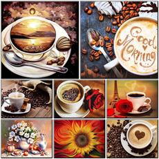 Coffee, diamondpaintingkitsforadult, Home, Rhinestone