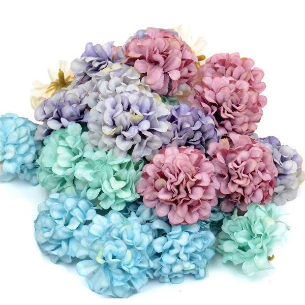 Head, Flowers, Scrapbooking, for
