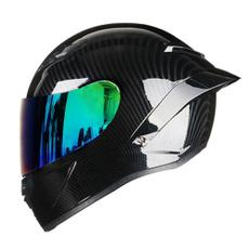 Helmet, Full, Off, Glass