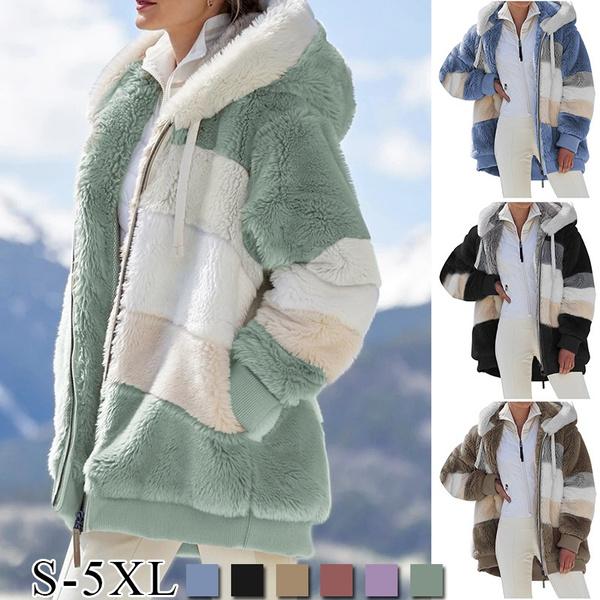 fur coat, Winter, blousonfemme, giubbottidonna