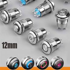 powerbutton, Aluminum, Cars, button