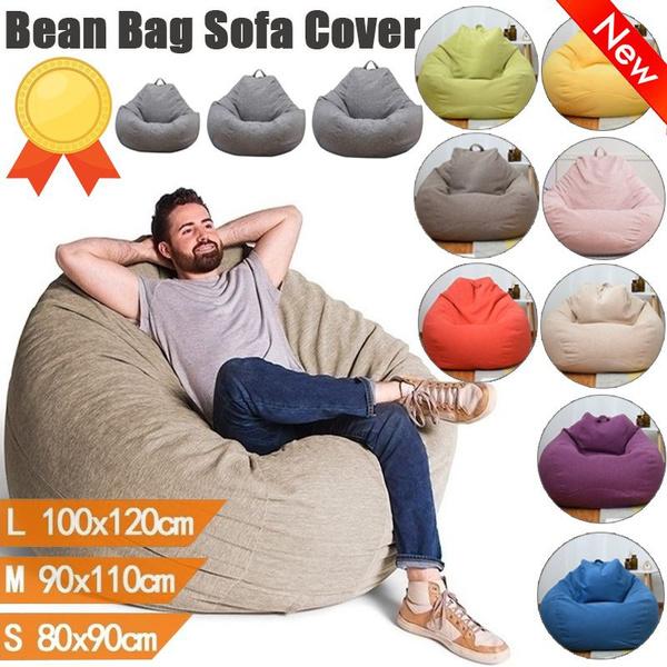 beanbag, Cotton, Sofas, fluffy