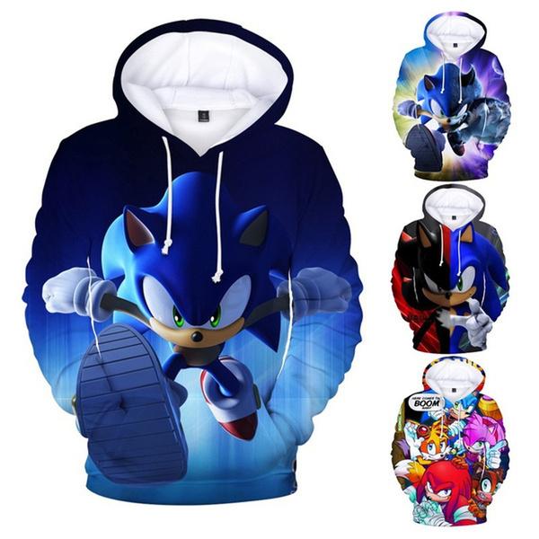 3D hoodies, Fashion, sonic, ladieshoodie