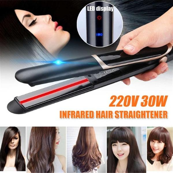 Hair Curlers, led, Hair Straighteners, Ceramic