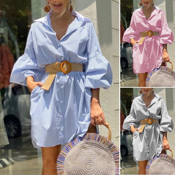 dressesforwomen, blouseloosedres, Sleeve, plus size dress