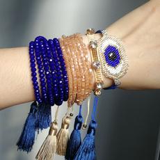Blues, accesorio, miyuki, eye