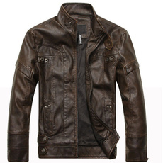 de, leather, Coat, Men