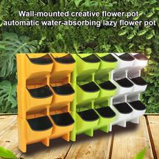 selfwateringflowerpot, stackableflowerpot, wallhangingflowerpot, Flowers