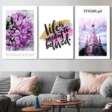 Home & Kitchen, Flowers, art, canvaspainting