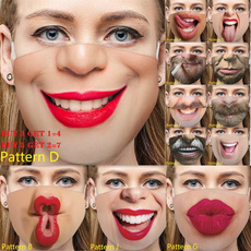 Funny, Cotton, mouthmask, Get