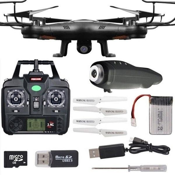Quadcopter, aircraftdrone2mphdcamera, Remote, aircraftdrone