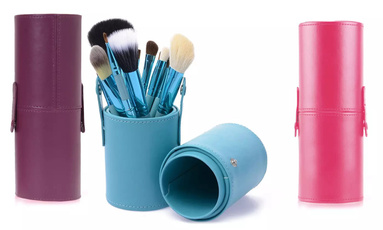 Makeup Tools, Cosmetic Brush, Beauty, leather