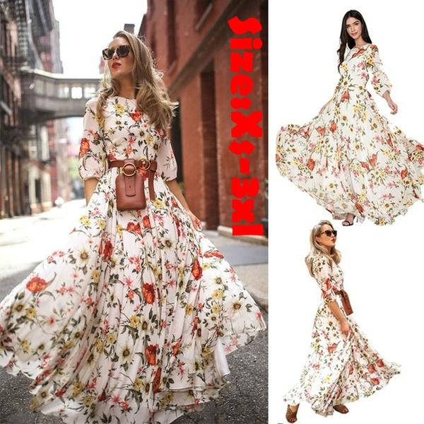 Club Dress, Fashion, Floral, Waist