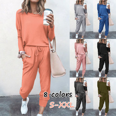 tracksuit for women, Fashion, sport pants, Sleeve