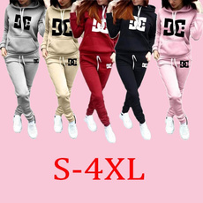 tracksuit for women, Plus Size, Sleeve, hoodies for women