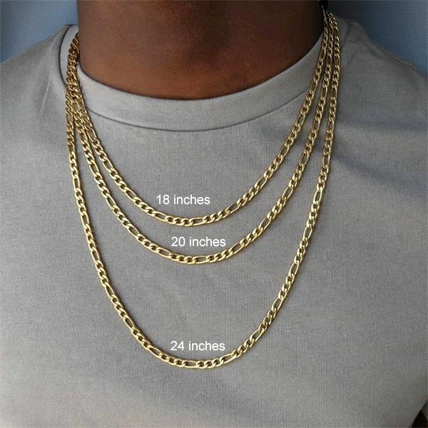 Fashion, Chain, Men, Yellow