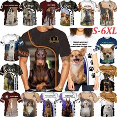 germanshepherd, chihuahua, Shirt, dogprinttop