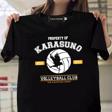 haikyuutshirt, shortsleevestshirt, tshirtforgirl, solidcolortshirt