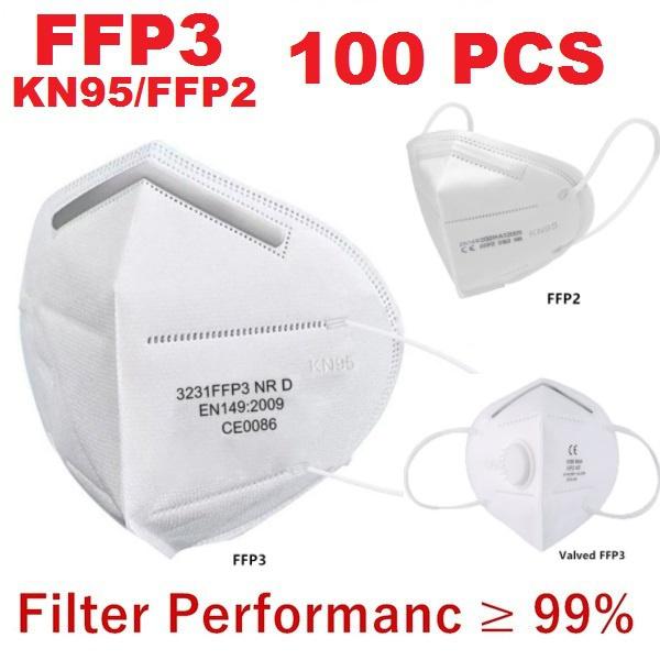 faceffp3, ffp2mask, kn95filtermask, Home & Living