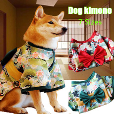 dogkimono, kimonocoverup, petkimono, blossom