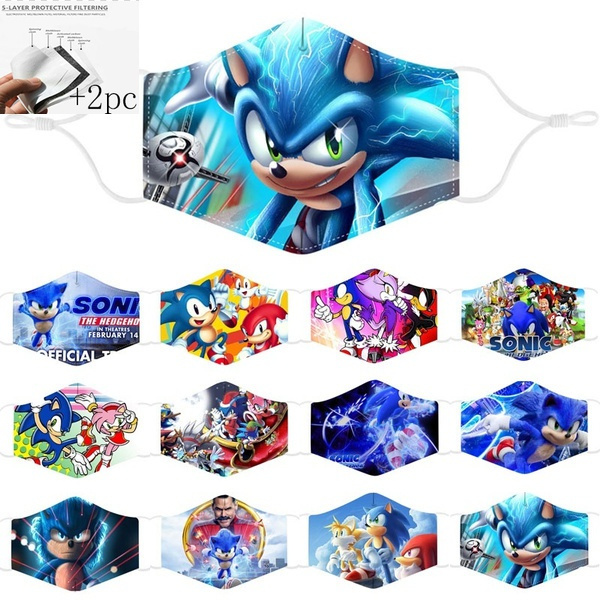 Funny, sonicthehedgehogmask, Outdoor, childrenmask